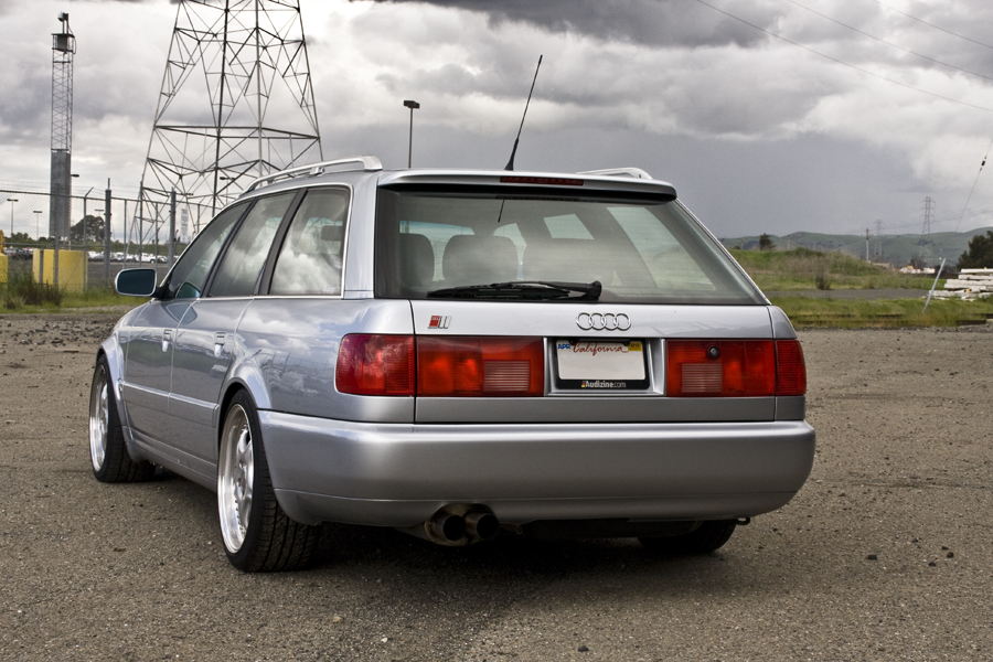1995 Audi S6 Avant Coilovers 18 S Gt3071 380hp Just The Way I Like Them Audi