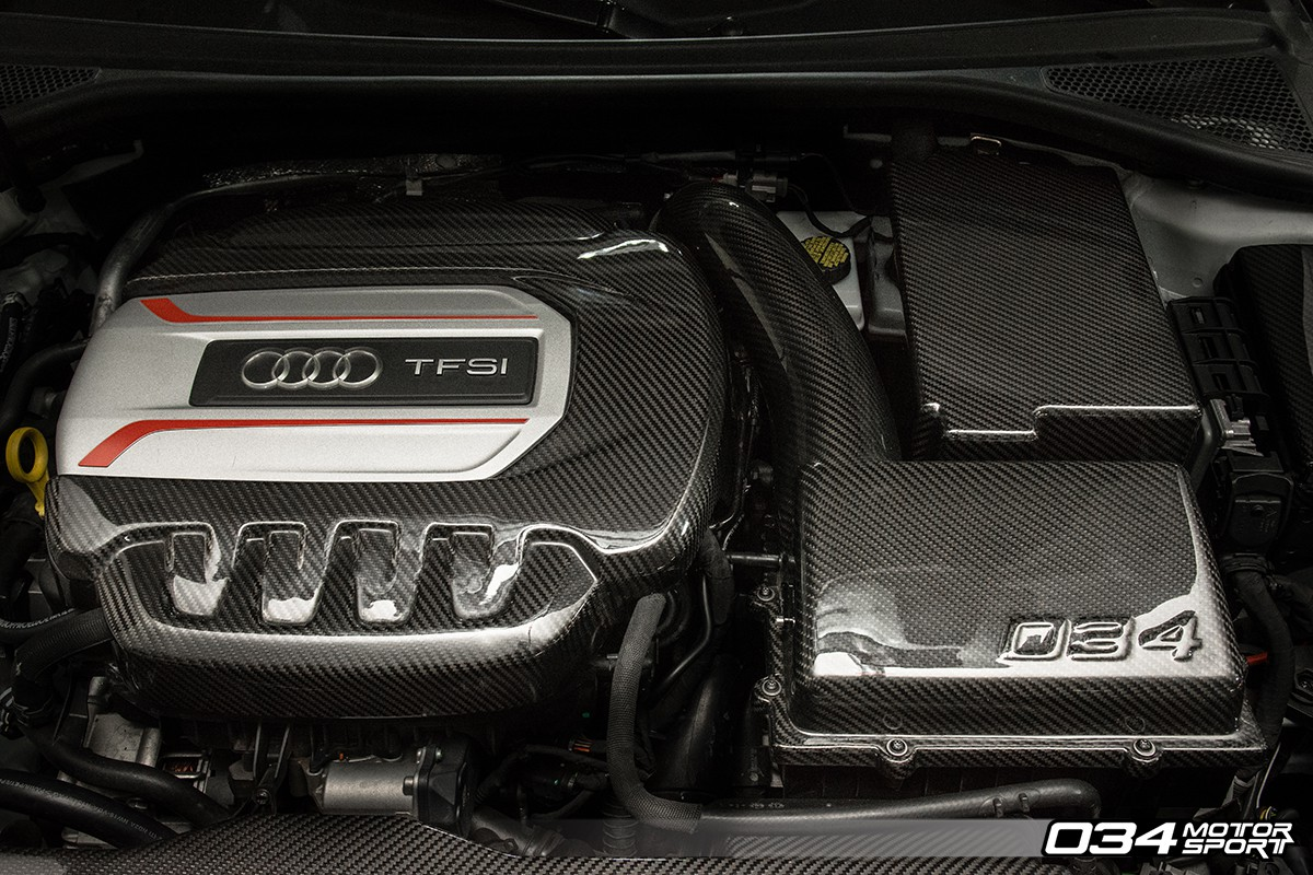 034 Motorsports X34 Carbon Fiber Mqb Cold Air Intake System Mk7 Volkswagen Golf R Wiring Harness 8v Audi S3 Installed