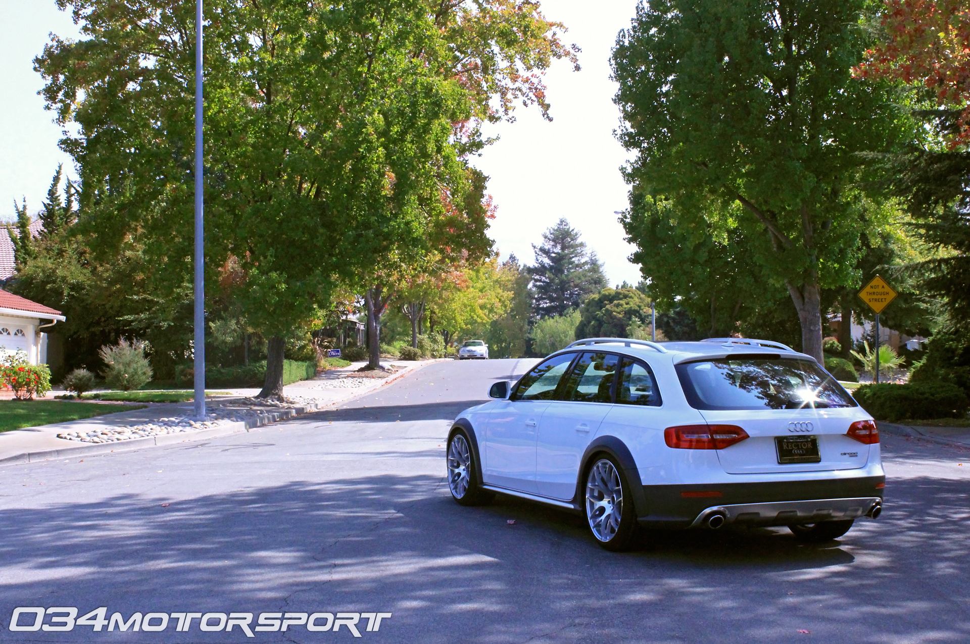 B8 Allroad With H Amp R Coilovers And Vmr V710s