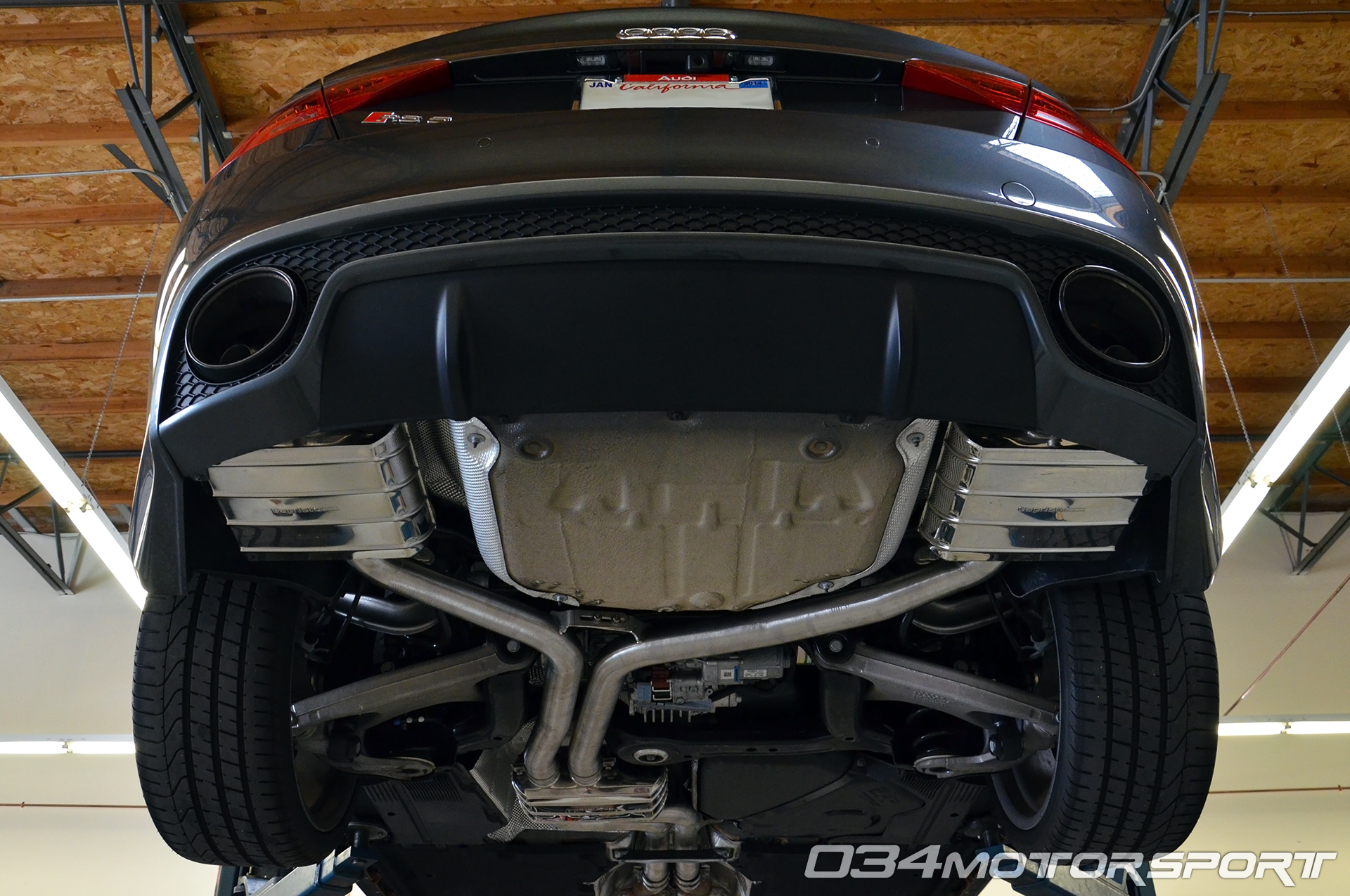 Capristo B8 5 Audi Rs5 Exhaust Installation At 034motorsport