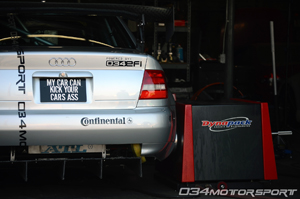 034Motorsport Time Attack B5 Audi A4 1.8T Dyno at 2012 European Car Magazine Tuner Grand Prix!