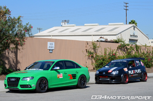 Eurocode B8 Audi S4 & Bluewater Performance Rabbit Turbo at 2012 European Car Magazine Tuner Grand Prix!