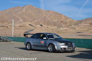 034Motorsport B5 Audi A4 Road Course Streets of Willow at 2012 European Car Magazine Tuner Grand Prix!