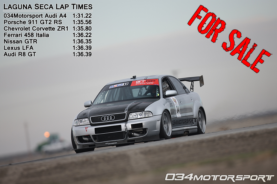 034Motorsport Time Attack A4 - Pictures