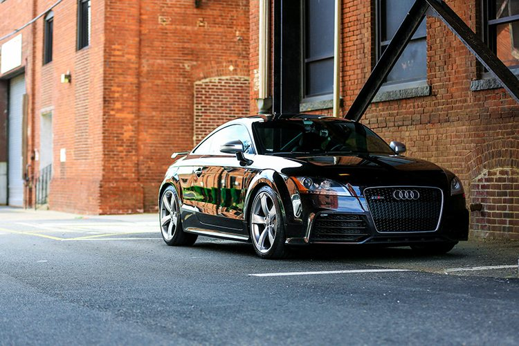 Keith's Panther Black Crystal Audi TT RS with RS500 Turbo Kit