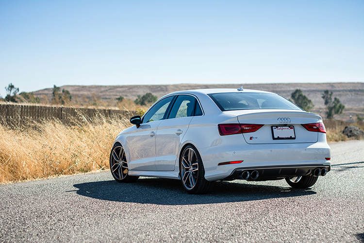 Will's Lowered MQB Audi S3 on Bilstein Coilovers