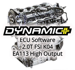 Dynamic+ Tune for Mk6 Volkswagen Golf R & 8J Audi TTS 2.0T FSI