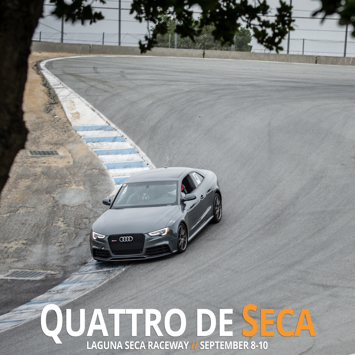 Audi Club Laguna Seca Track Day 2017