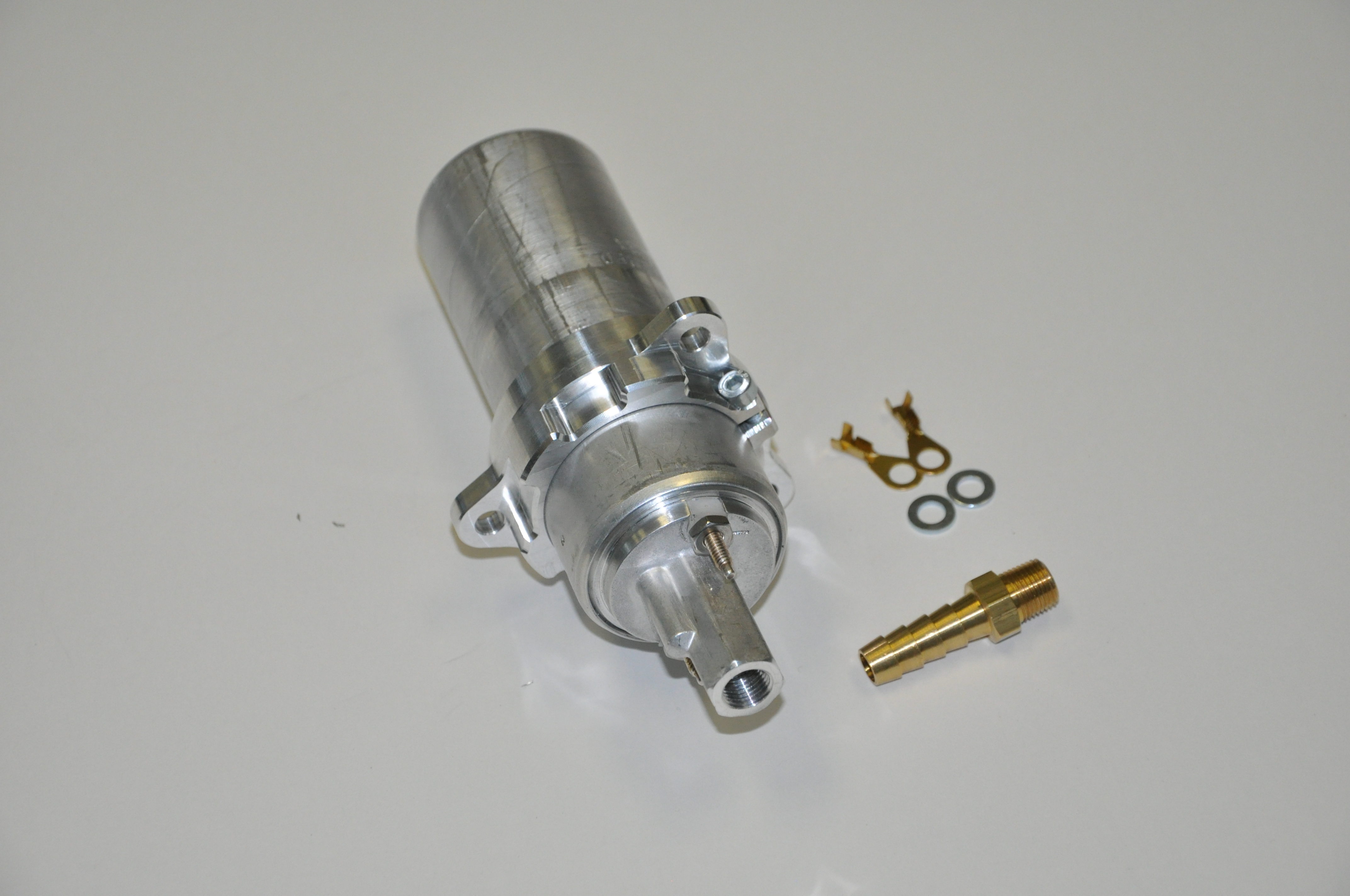 Bahn Brenner Motorsport High Volume Horsepower Mk2 Digifant Electric Fuel Pump Installation Instructions Start By Removing The Stock Set Aside Rubber O Ring And Plastic Strainer Basket Pictured Below Carefully Grind Lip Off