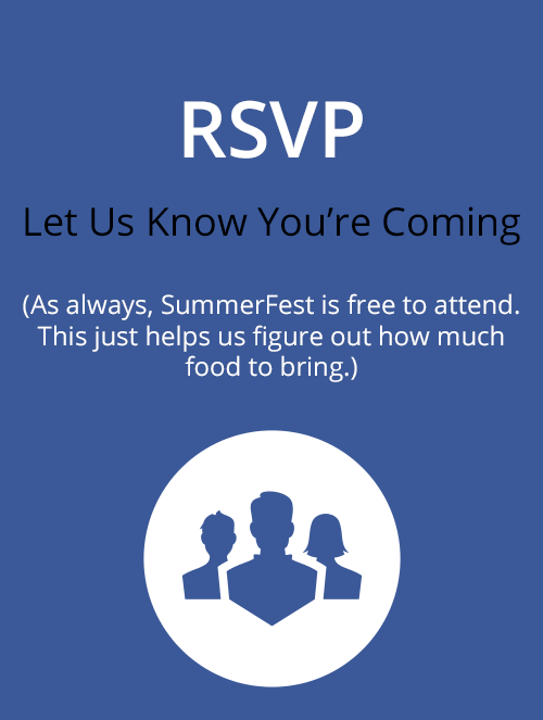RSVP for SummerFest via Facebook!