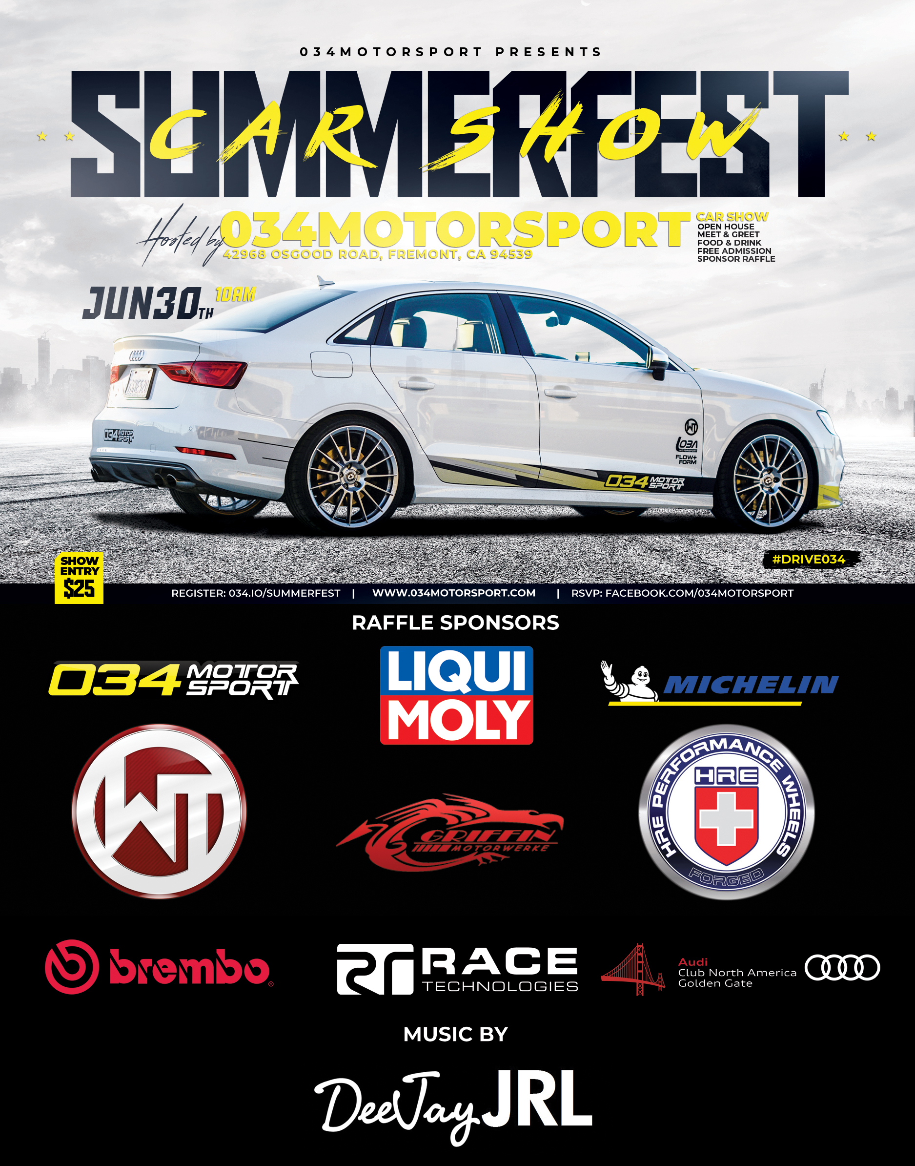 SummerFest AudiVolkswagen Car Show Open House And Get - Bay area car shows this weekend