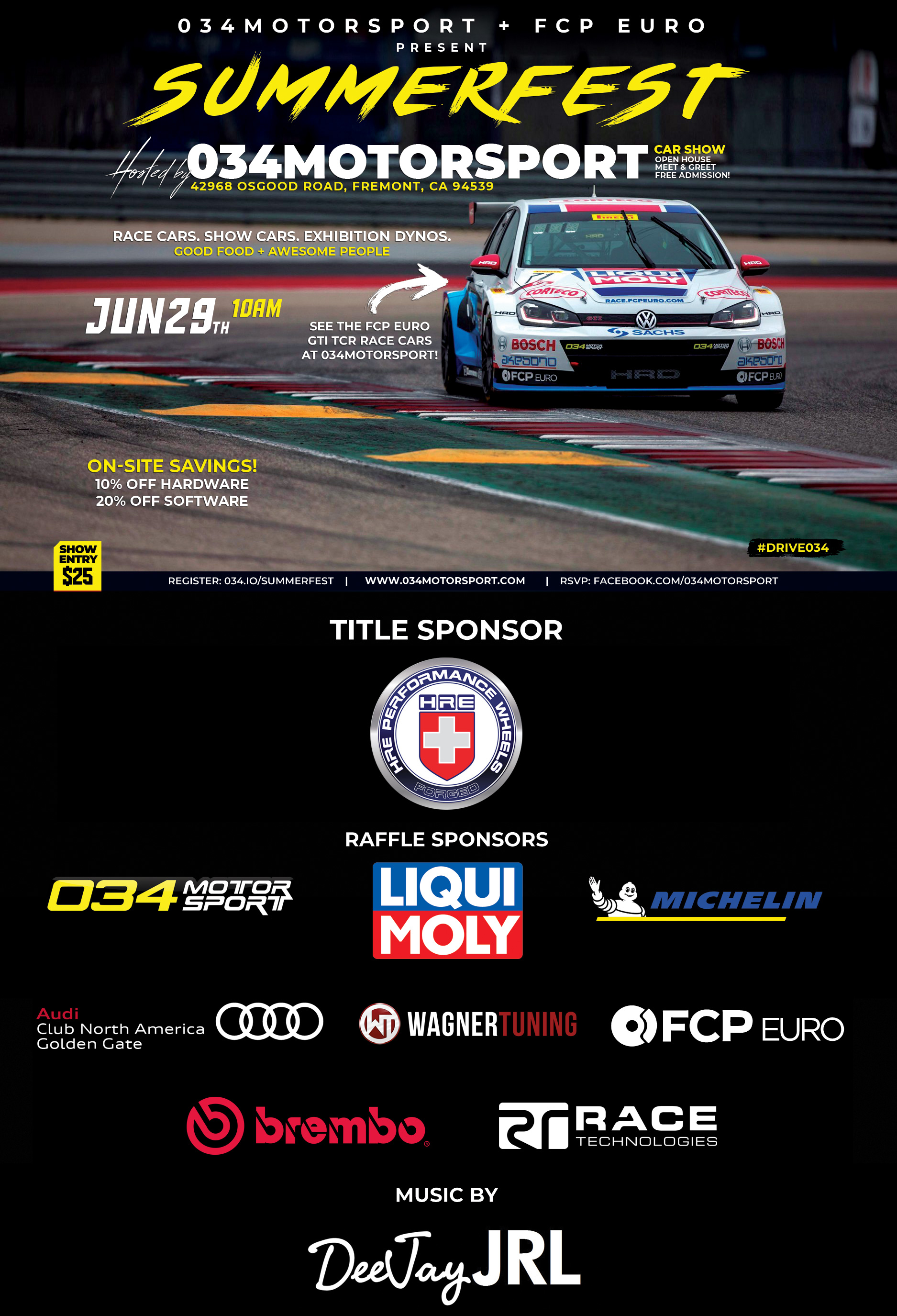 SummerFest 2019 - Audi/Volkswagen Car Show, Open House, and Get Together at 034Motorsport in Fremont, CA
