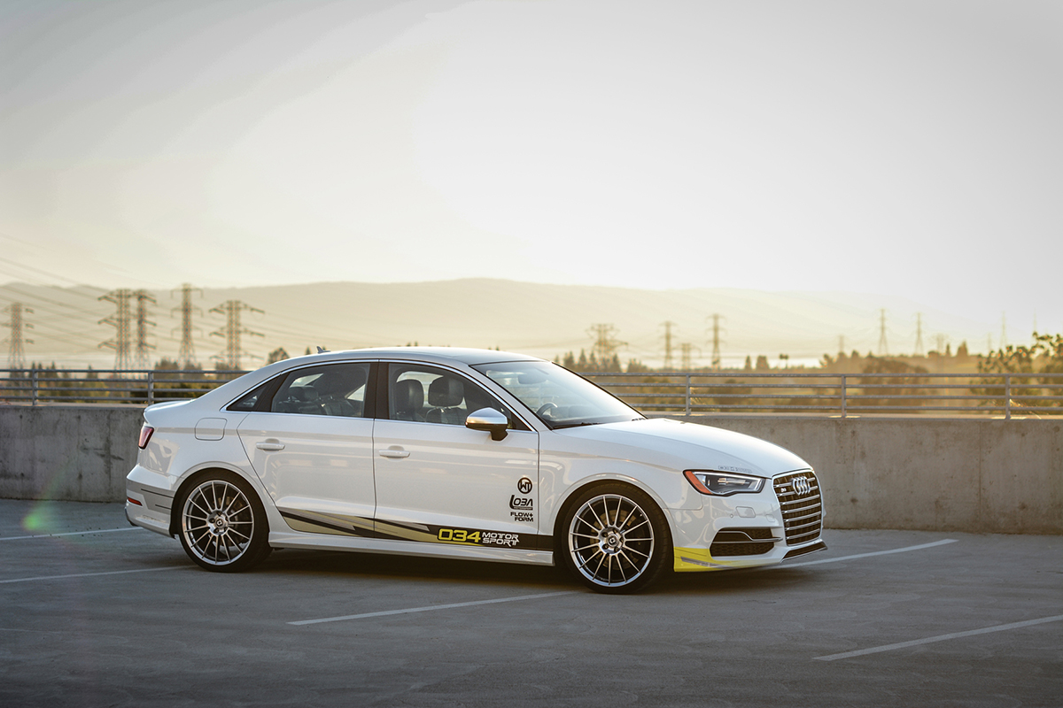 Tuned 2016 Audi S3 with R460 Turbo Kit