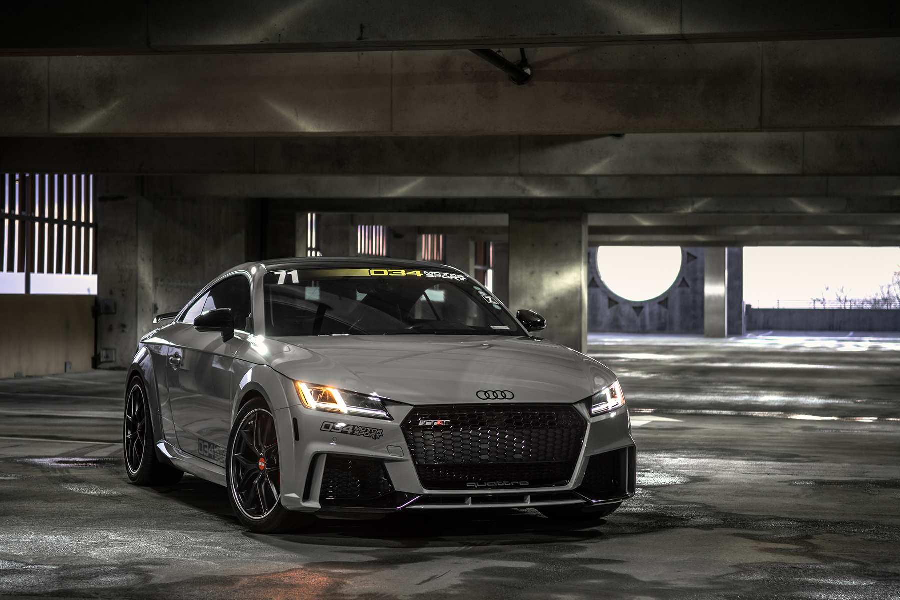 Lowered MkIII Audi TTRS Hardware and Software Development Vehicle