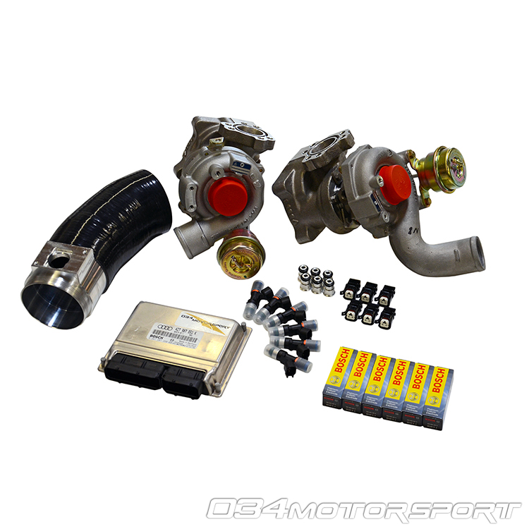 Turbo Kit B5 Audi S4 Amp C5 A6 Allroad 2 7t Stage 3 Rs4