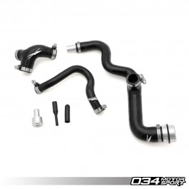 Breather Hose Kit, Late-AMB Audi A4 1 8T, Reinforced Silicone
