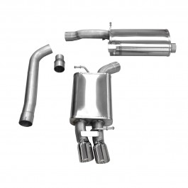 Corsa Performance B8 Audi A4 2 0T Cat-Back Exhaust System