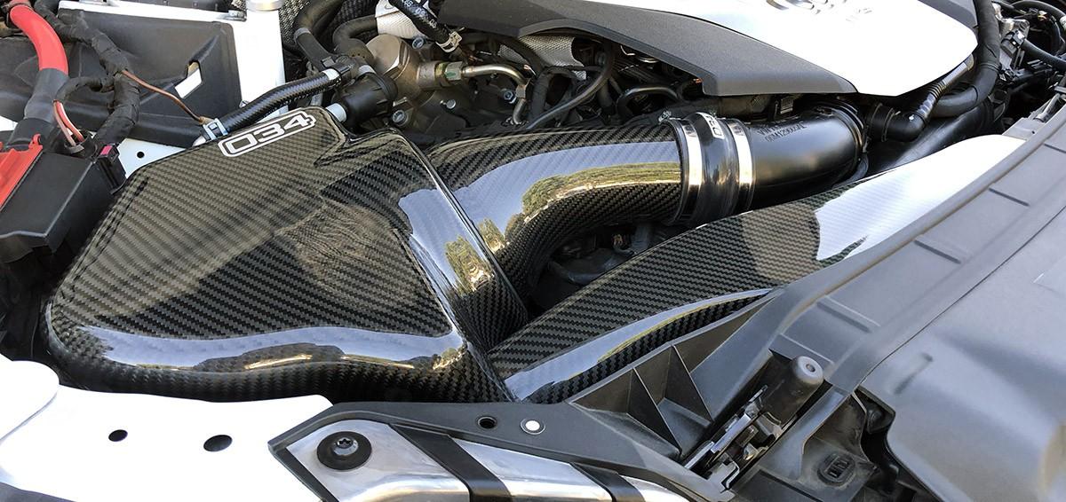 X34 Carbon Fiber Full Intake System, B9 Audi S4/S5 3.0 TFSI