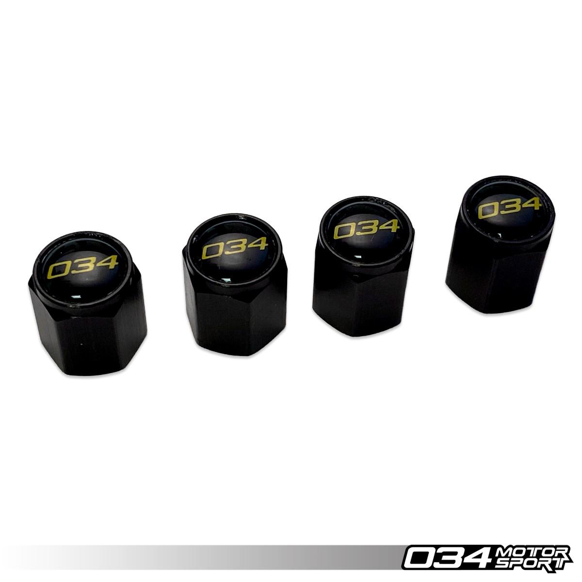 034Motorsport Aluminum Valve Stem Cap Set 034-604-4000