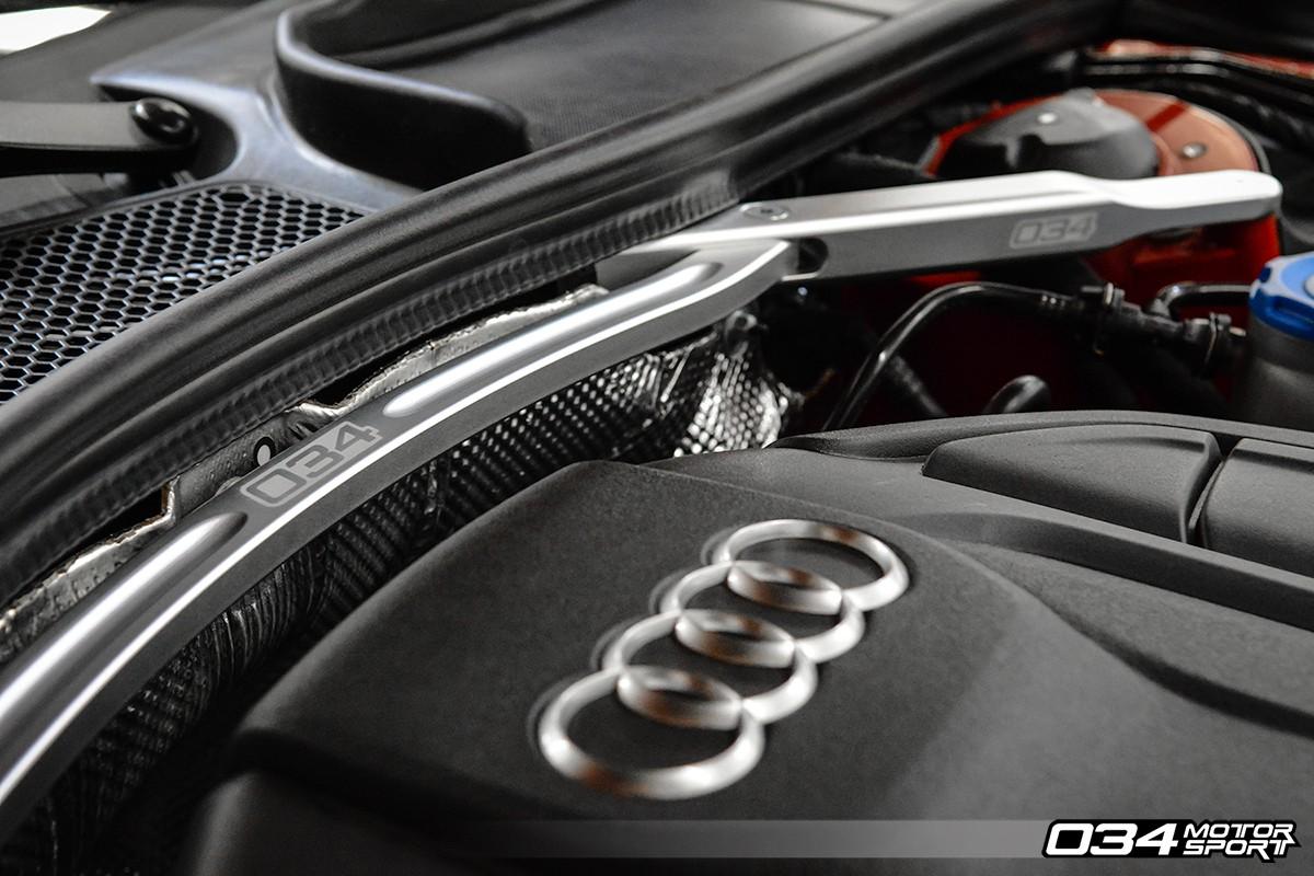 034motorsport Front Strut Brace B9 Audi A4 S4 A5 S5 Rs5