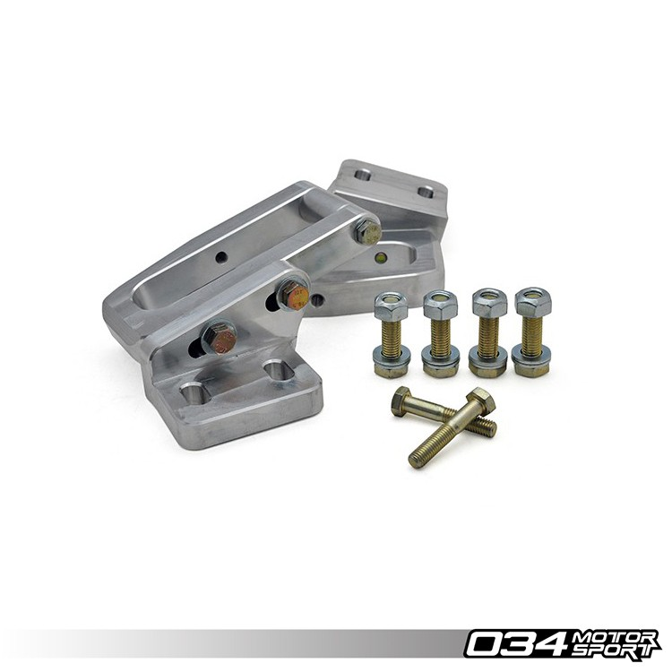 034Motorsport Billet Aluminum Rear Subframe Reinforcement Kit, B4/B5 Audi S2/RS2 & A4/S4/RS4 Quattro | 034-402-7002