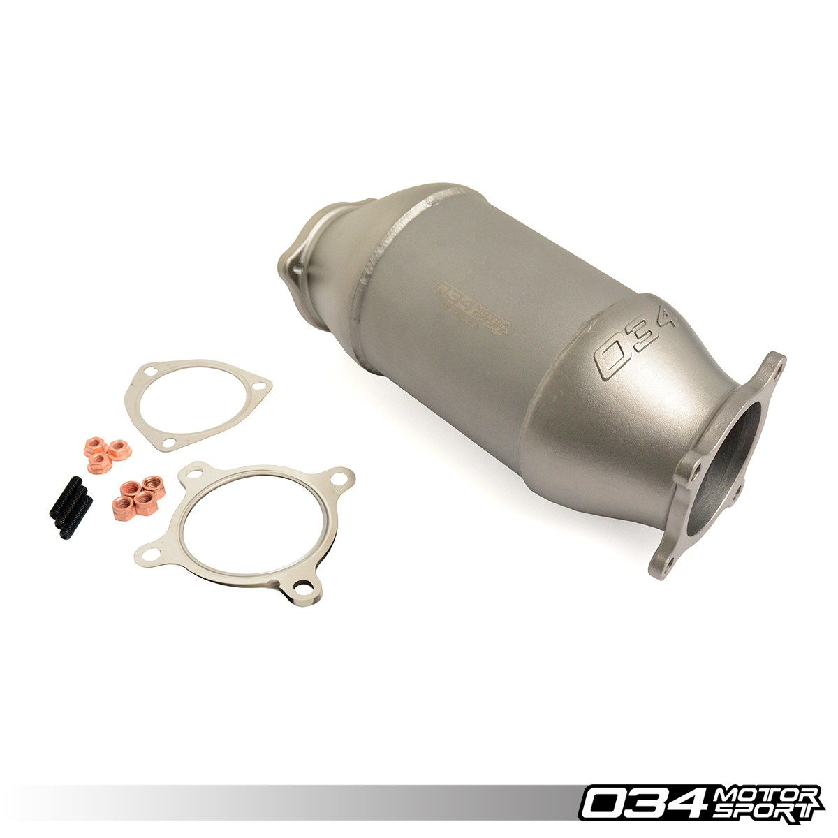 Cast Stainless Steel Racing Catalyst, B9 Audi A4/A5 & Allroad 2.0 TFSI | 034-105-4043