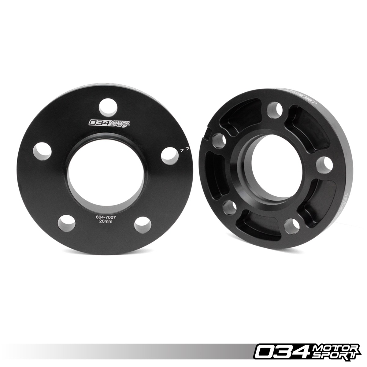 20mm Wheel Spacer Pair for Audi 5x112mm Hubs with 66.6mm Center Bore | 034-604-7007