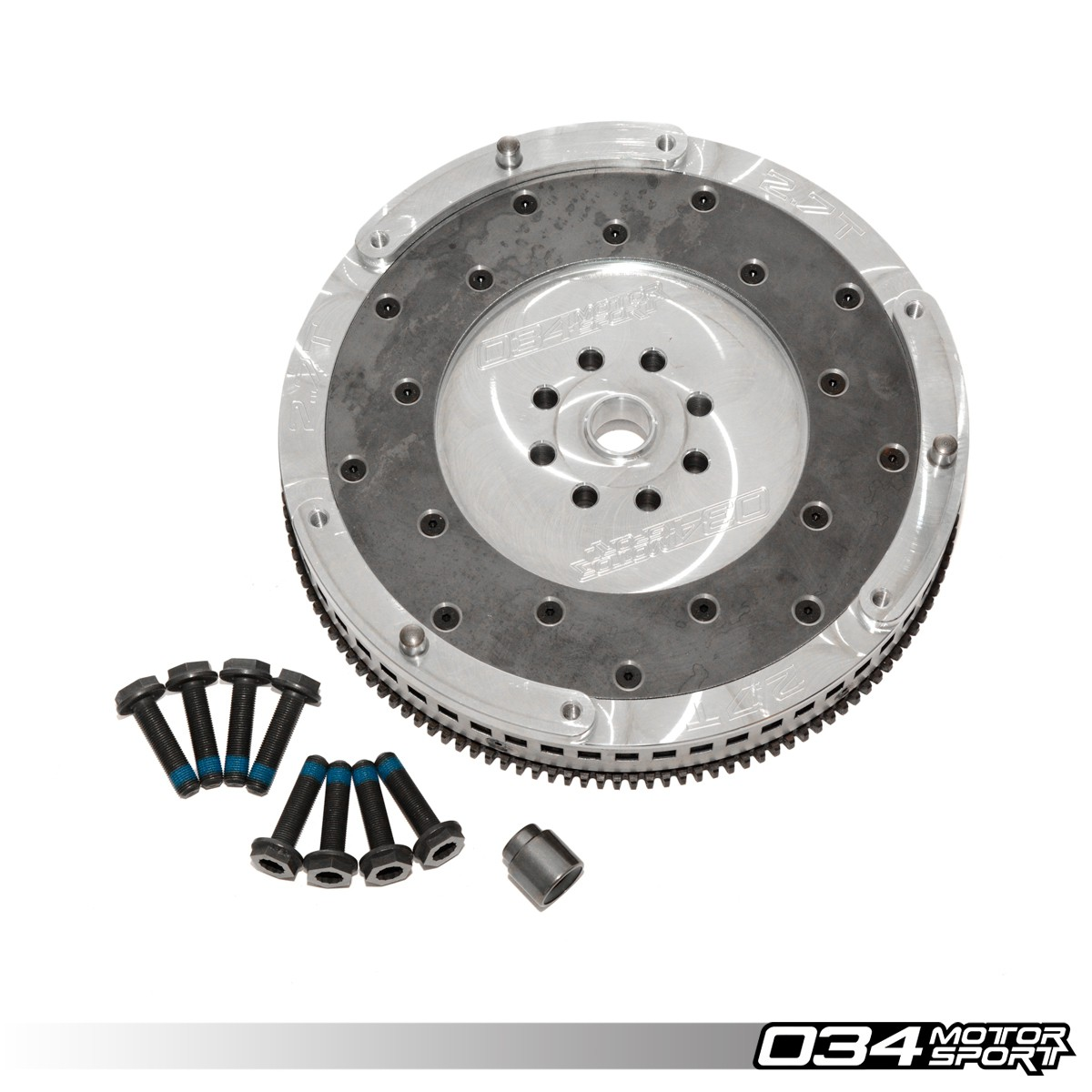 Lightweight Single-Mass Aluminum Flywheel Upgrade for B5 Audi S4 & C5 Audi A6/Allroad 2.7T | Replaces 078105266N | 034-503-1013