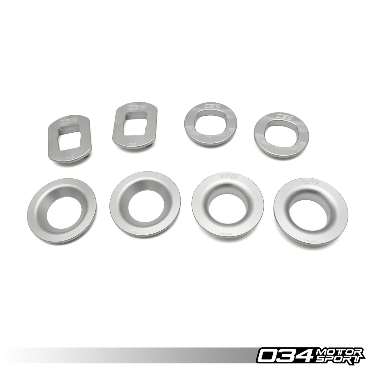 Billet Aluminum Rear Subframe Mount Insert Kit, E9X BMW | 034-601-0047