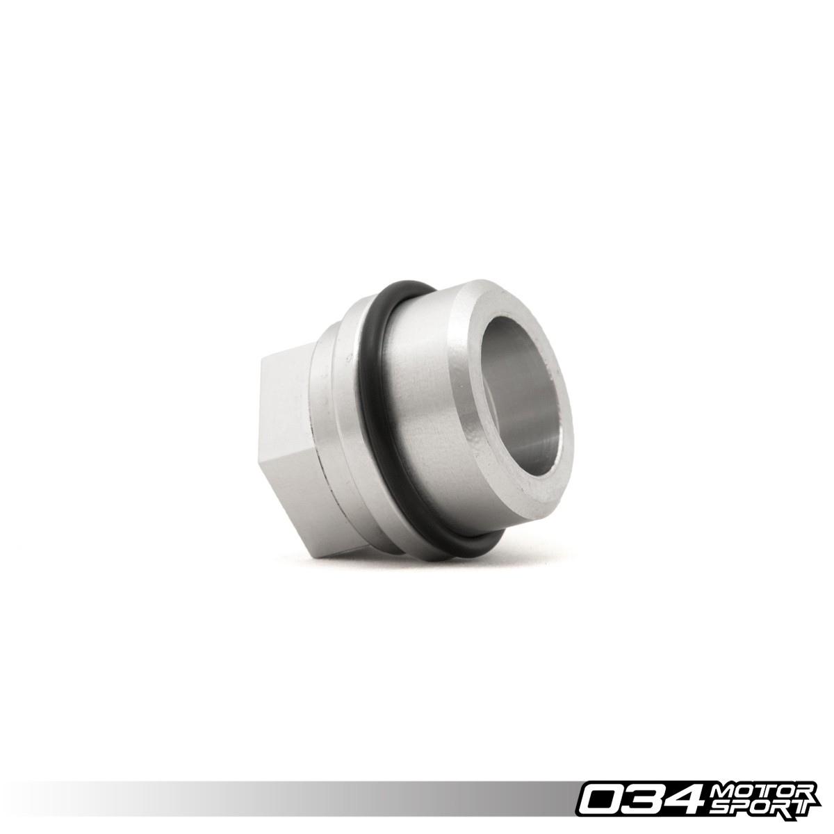 "Block Breather Adapter, Audi/Volkswagen 1.8T, Billet Aluminum, Threaded 3/4"" NPT 