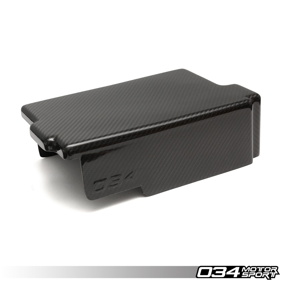 Carbon Fiber Battery Cover, MkVII Volkswagen GTI & Golf R, 8V Audi A3/S3 | 034-1ZZ-0001
