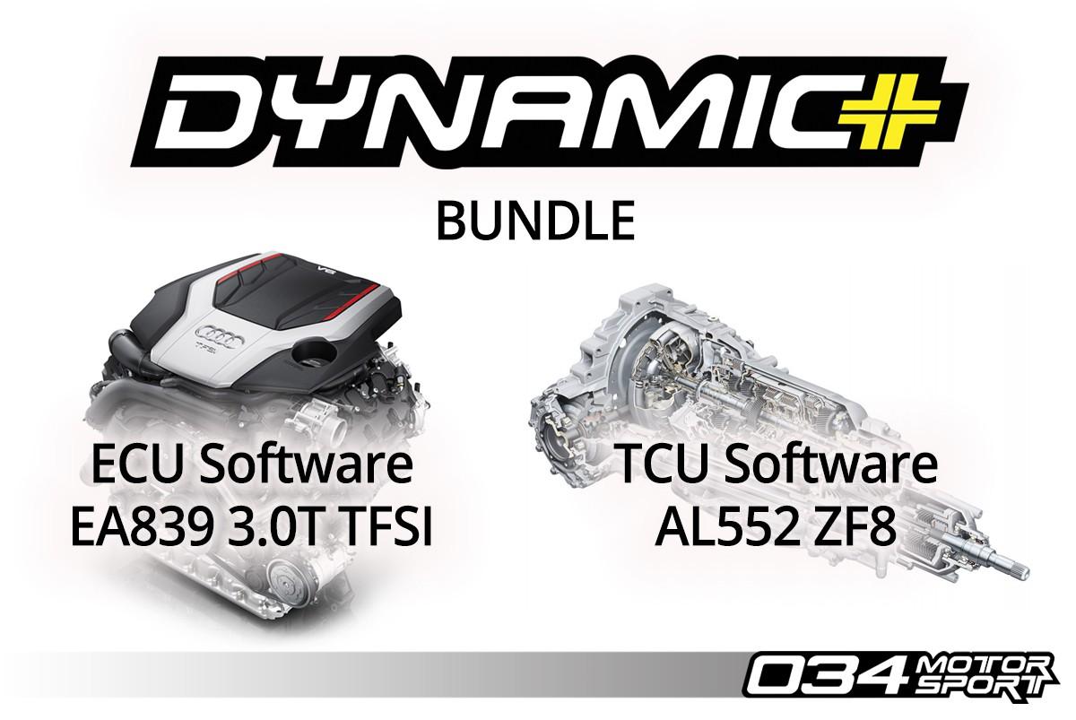 034Motorsport B9 Audi S4/S5/SQ5 EA839 3.0T Dynamic+ Performance ECU & AL552 ZF8 Transmission Tuning Bundle - 034-30-EA839