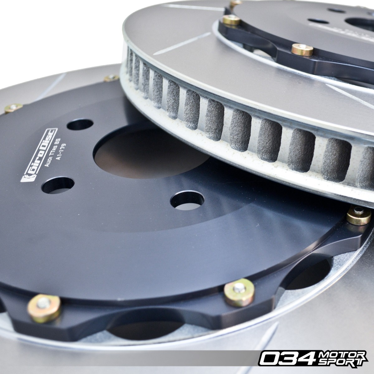 GiroDisc Front 2-Piece Floating Rotor Pair for 8S Audi TTRS (MkIII) | GIR-A1-179