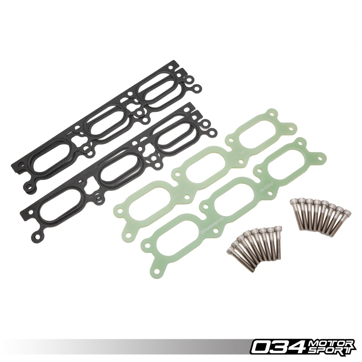 Intake Manifold Spacer, Phenolic, Large Port Audi B5 A4/S4/RS4 C5 A6/Allroad 2.7T & 2.8L 30V V6 | 034-108-9003-LP