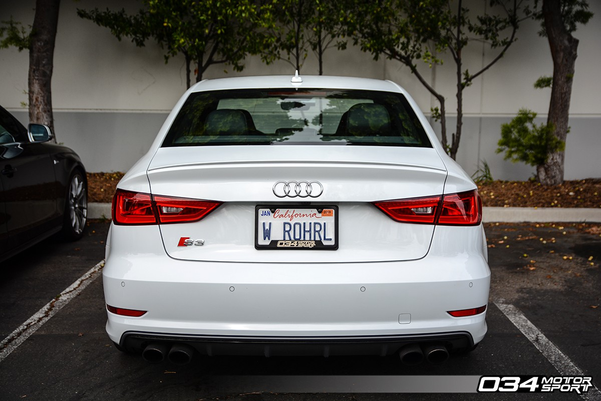 Motorsport License Plate Frame Powdercoated Stainless Steel - Audi license plate frame