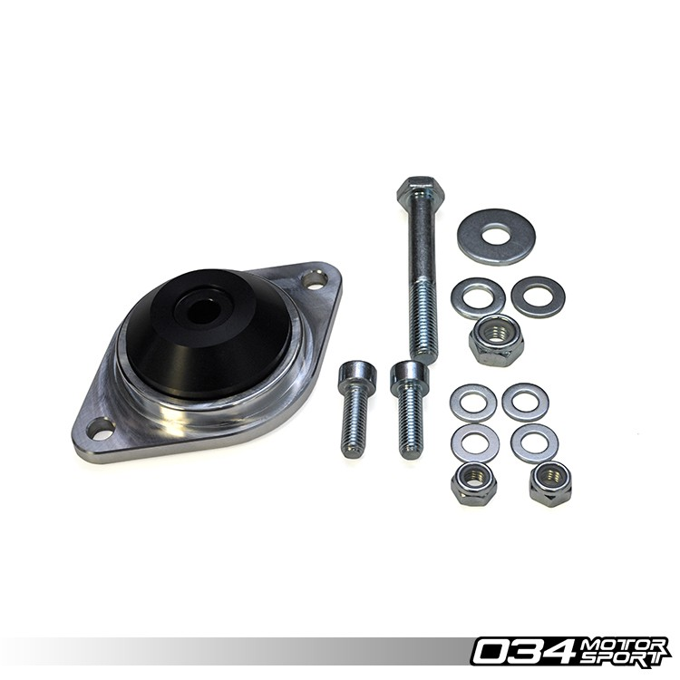Upgraded Transmission/Differential Mounts, Early Audi, Motorsport Spec, Billet Aluminum & Delrin | 034-509-4008