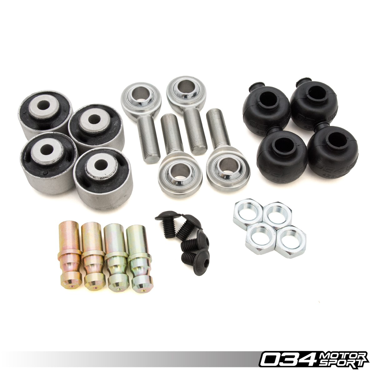 Rebuild Kit, Density Line Adjustable Front Upper Control Arms for B5/B6/B7 | 034-401-Z000