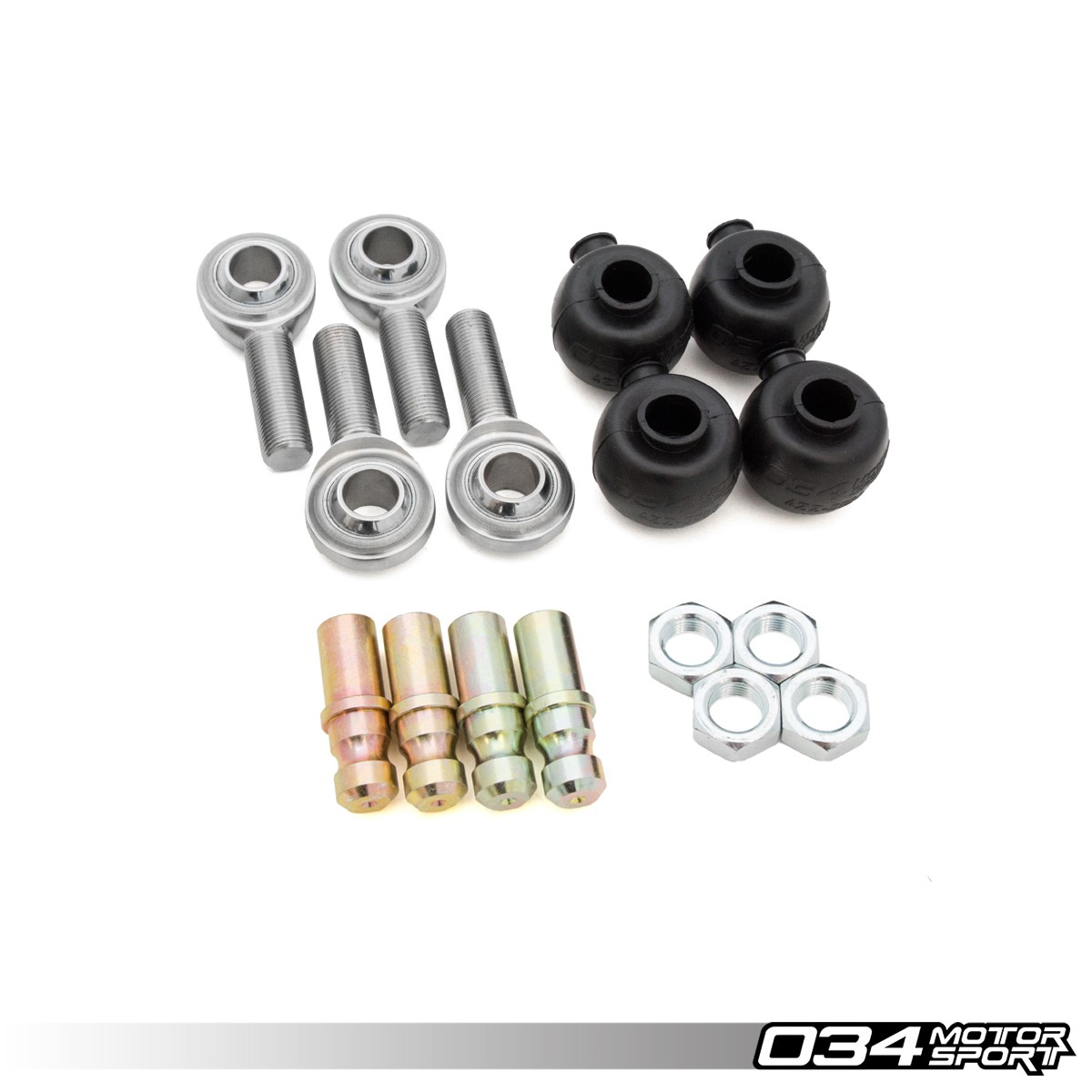 Rebuild Kit, Adjustable Front Upper Control Arm Heim Joints | 034-401-Z035