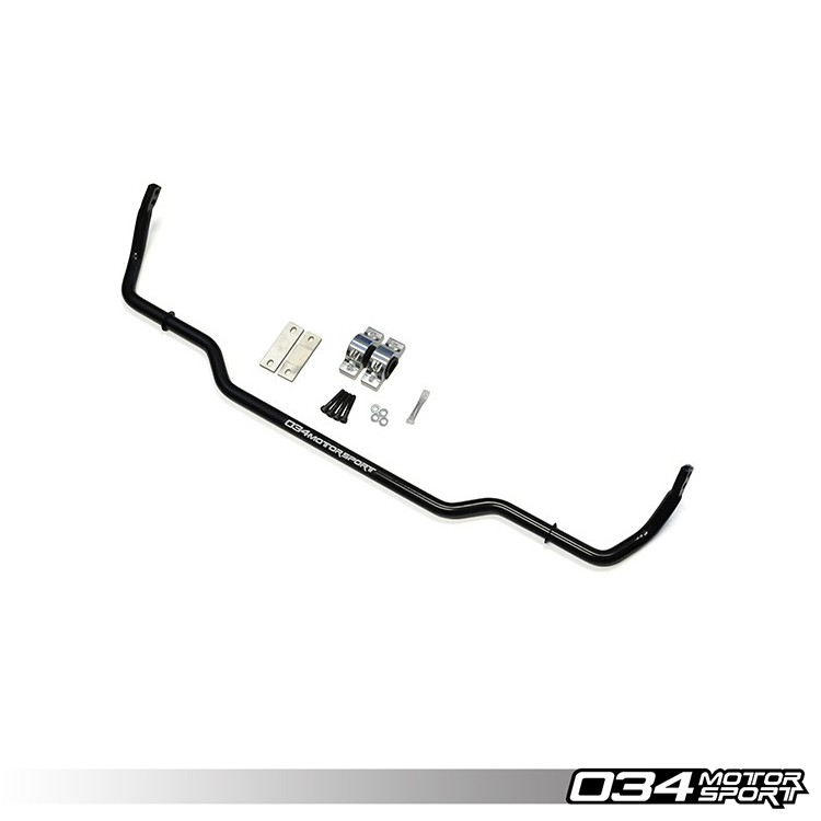 034Motorsport Solid Rear Sway Bar, MkV/MkVI Volkswagen Golf/GTI/Jetta/GLI/Rabbit & 8J/8P Audi TT/A3 FWD, Adjustable | 034-402-1003