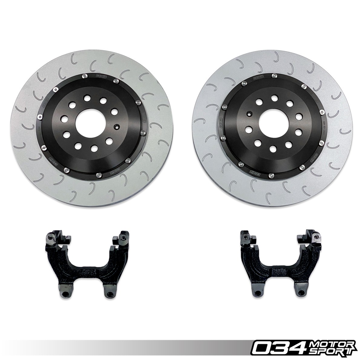 2-Piece Floating Rear Brake Rotor 350mm Upgrade for MQB VW & Audi 034-301-2004