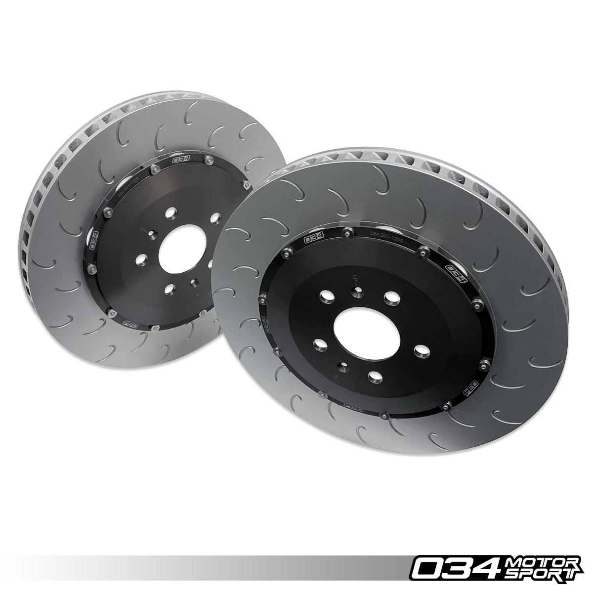 2-Piece Floating Rear Brake Rotor Upgrade Kit, Gen 1 & Gen 1.5 R8 034-301-2005
