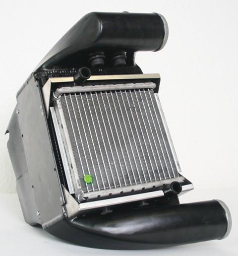 Upgraded Side-Mount Intercooler (SMIC) Kit, C5 Audi RS6 4