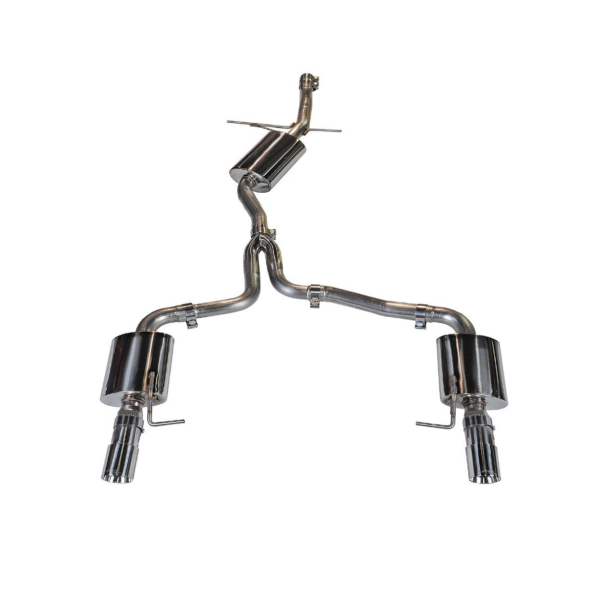 AWE Tuning B8.5 Audi A4 2.0T Touring Edition Dual Outlet Cat-Back Exhaust System