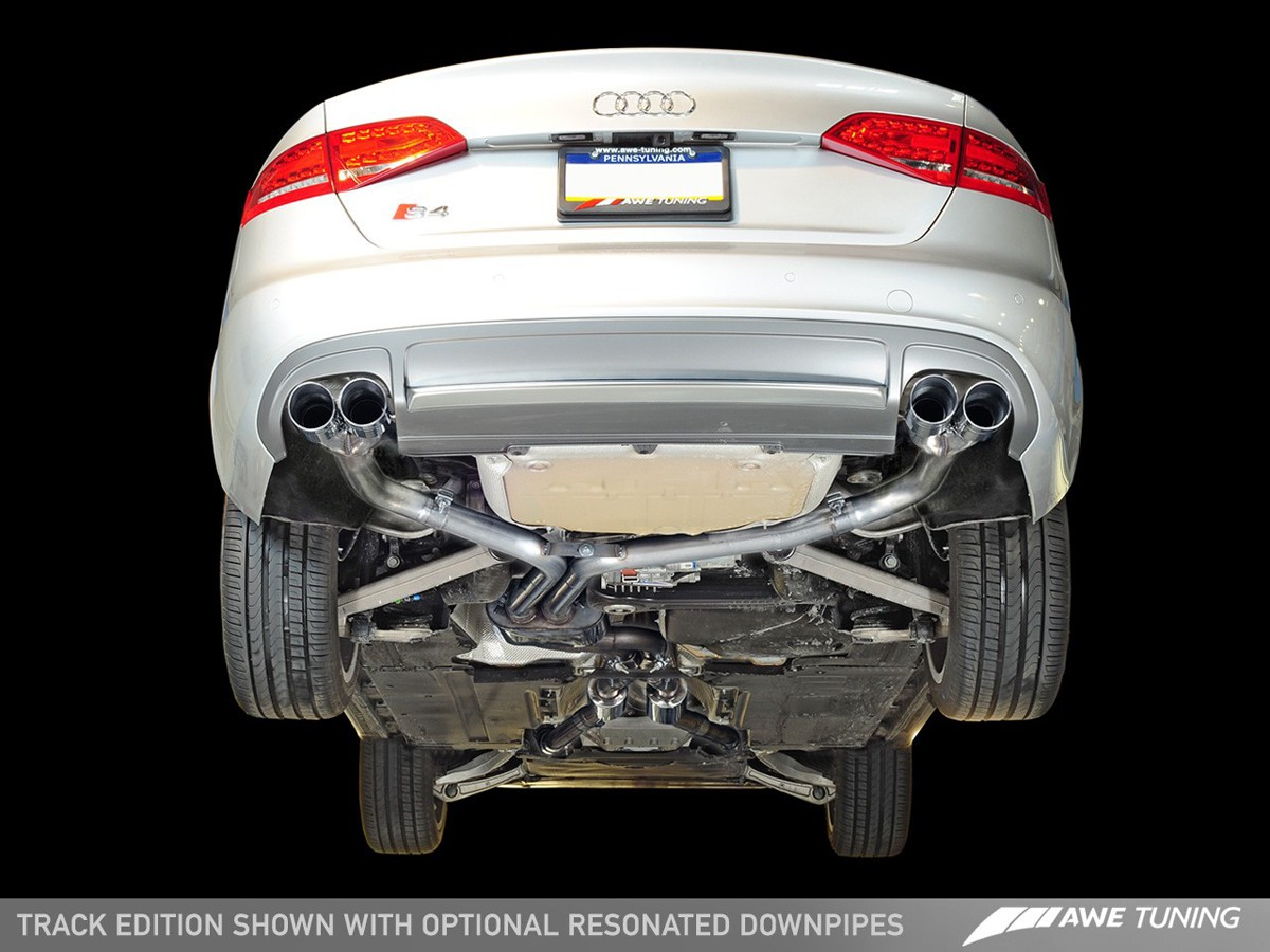 AWE Tuning B8/B8 5 Audi S4 Track Edition Cat-Back Exhaust System