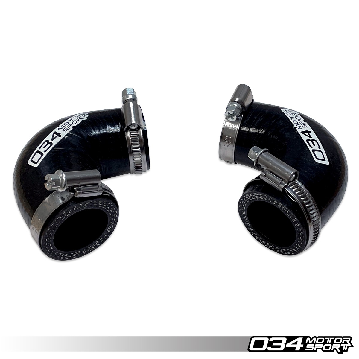 Bypass Valve Inlet Bipipe Hose Pair For APR Bipipe, Silicone, 2.7T 034-108-3031
