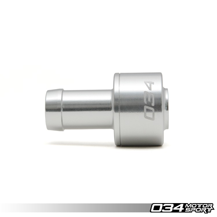 034Motorsport Billet PCV Check Valve for Audi/Volkswagen 1.8T, 2.7T, AAN | 034-101-2002
