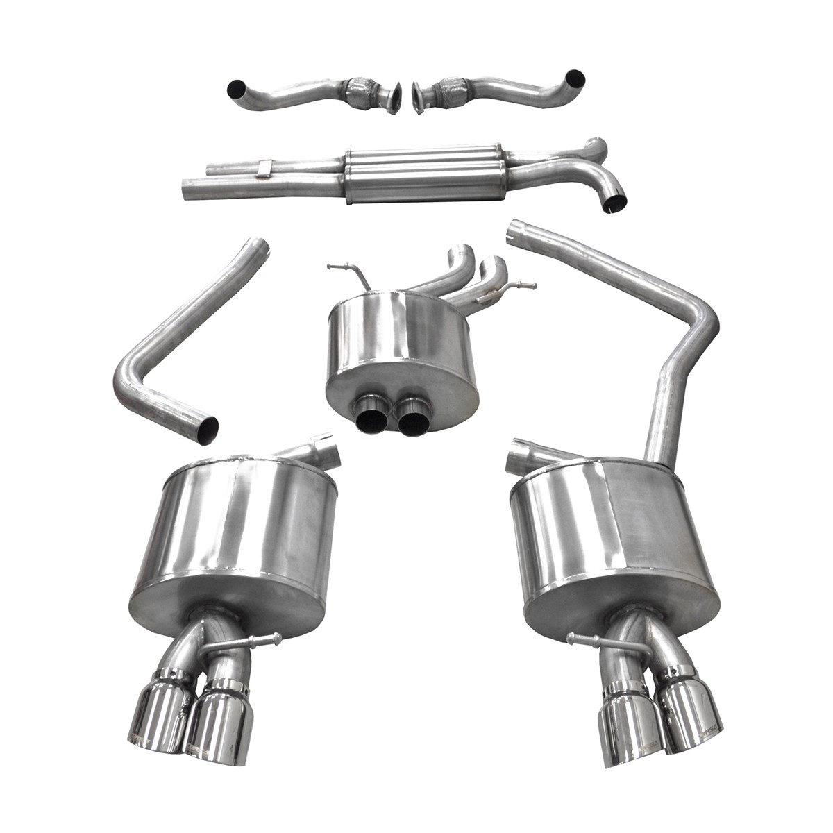 Audi S Cat Back Exhaust