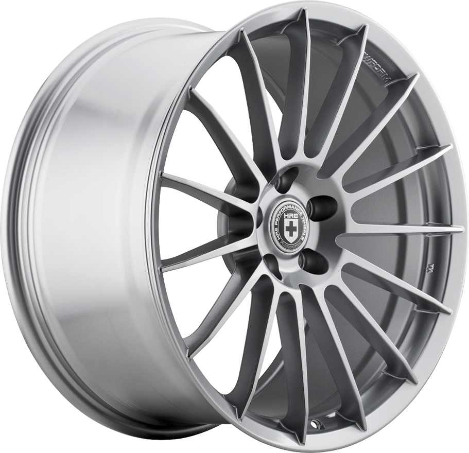 HRE FlowForm FF15 Wheels | Liquid Silver | Audi/Volkswagen 5x112 Bolt Pattern with 57.1mm Center Bore