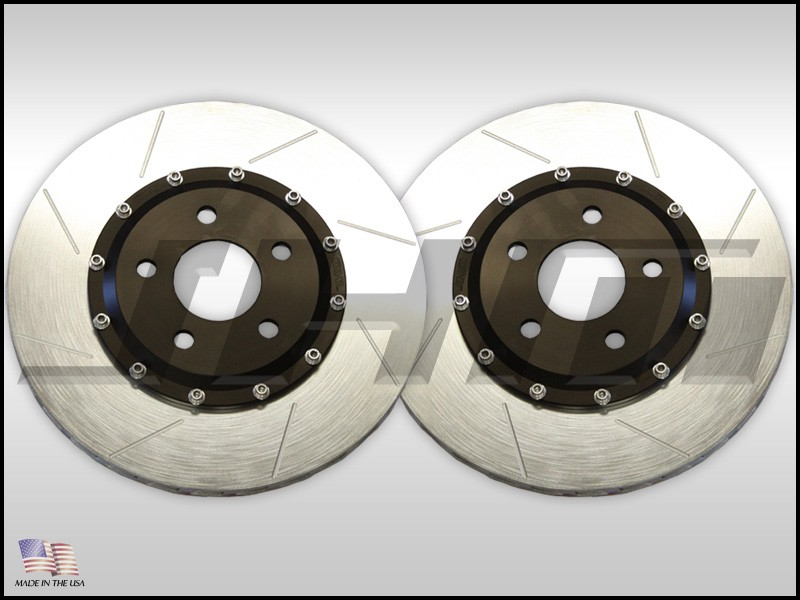 JHM Lightweight 2-Piece Rear Brake Rotor Pair for B8/B8.5 Audi S4/S5 | JHM-1024x330x22