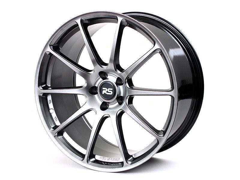 Neuspeed FlowForm RSe102 Wheels | Hyper Black | Audi/Volkswagen 5x112 Bolt Pattern